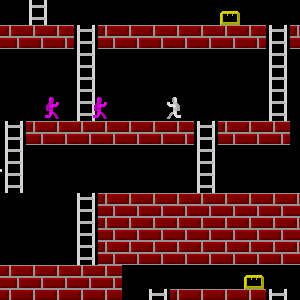 ZX Games | Lode Runner Series - remake of classic arcade