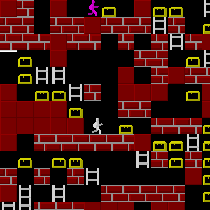 Lode Runner. Episode III: Die Hard Levels